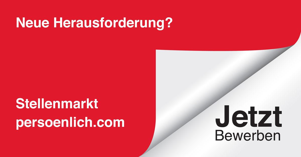 Jobs auf persoenlich.com: Senior Brand Designer (m/w/d)