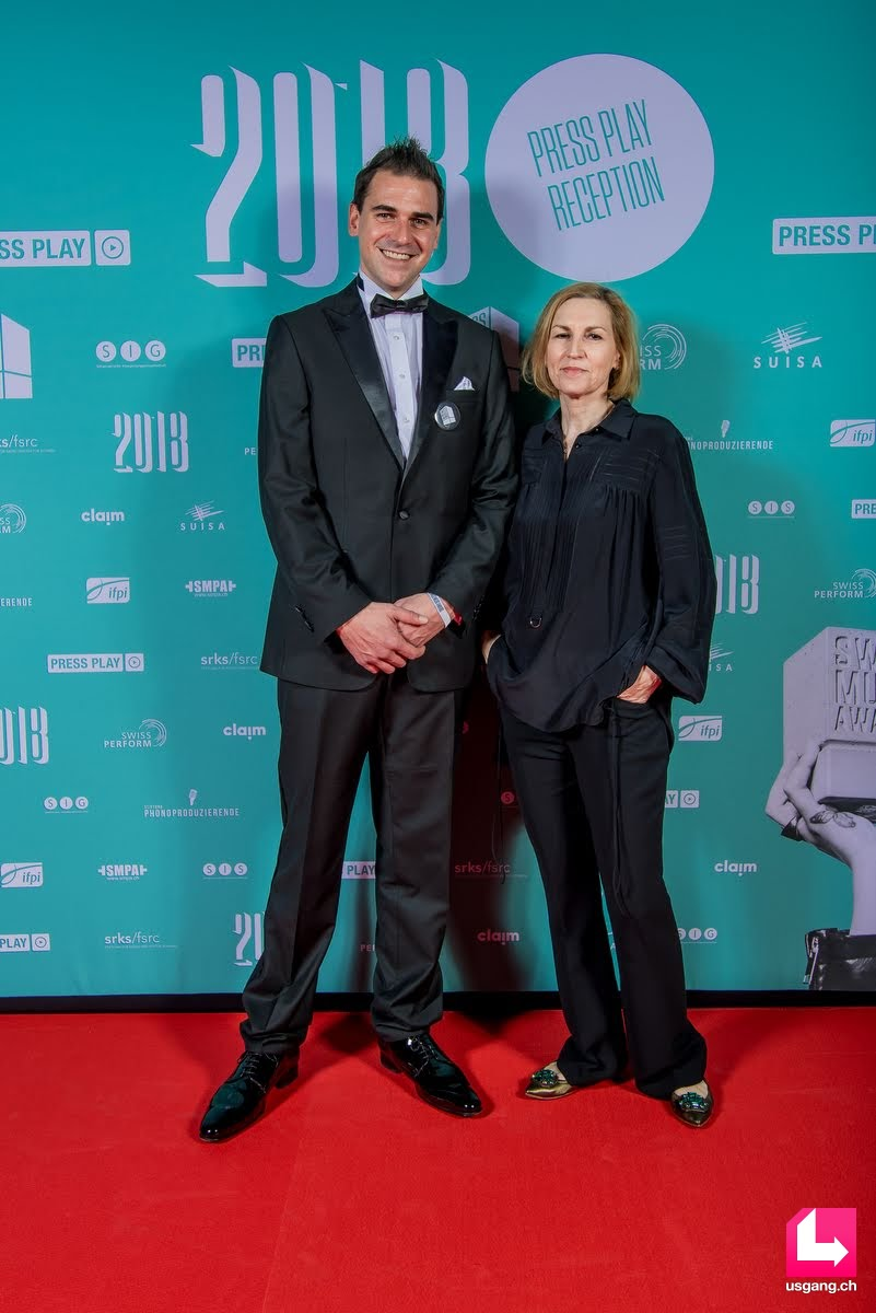 zur Galerie: Swiss Music Awards 2018 - Press Play Reception