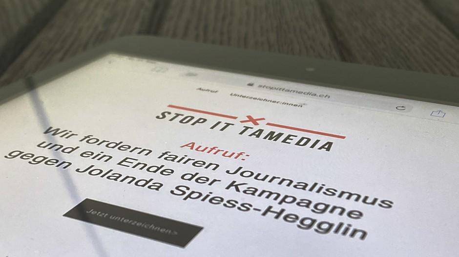 #StopitTamedia: 1000 Personen fordern «fairen Journalismus»