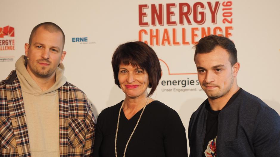 Aroma/FS Parker: Shaqiri und Stress als Botschafter der Energy Challenge 2016