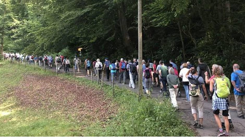 CH Media: 1600 Leser wanderten mit «Aargauer Zeitung»