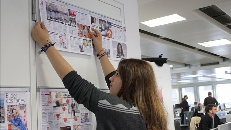 Ringier: 19-Jährige wirkt als Co-Chefredaktorin mit