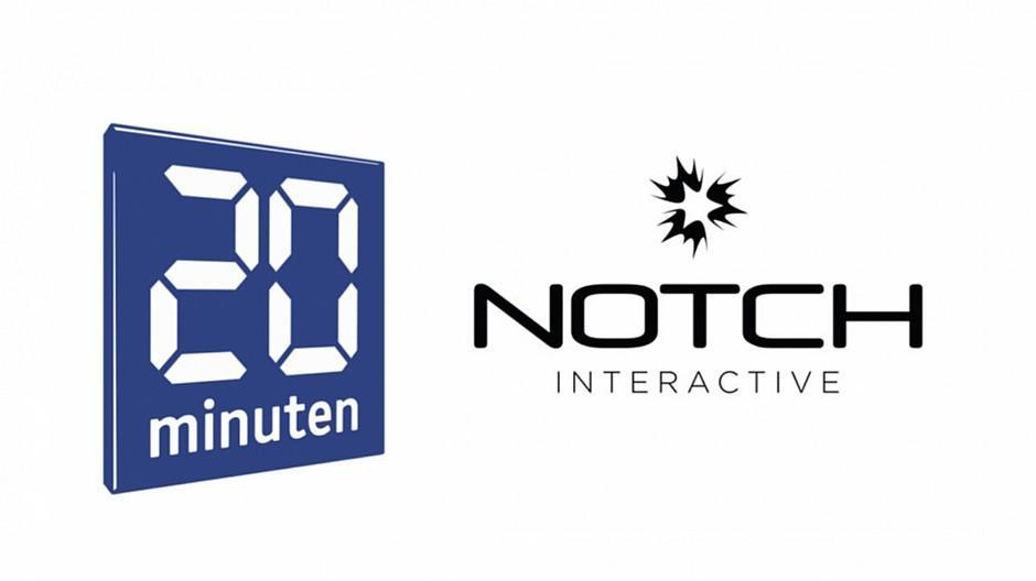 Notch Interactive: «20 Minuten»-Etat gewonnen