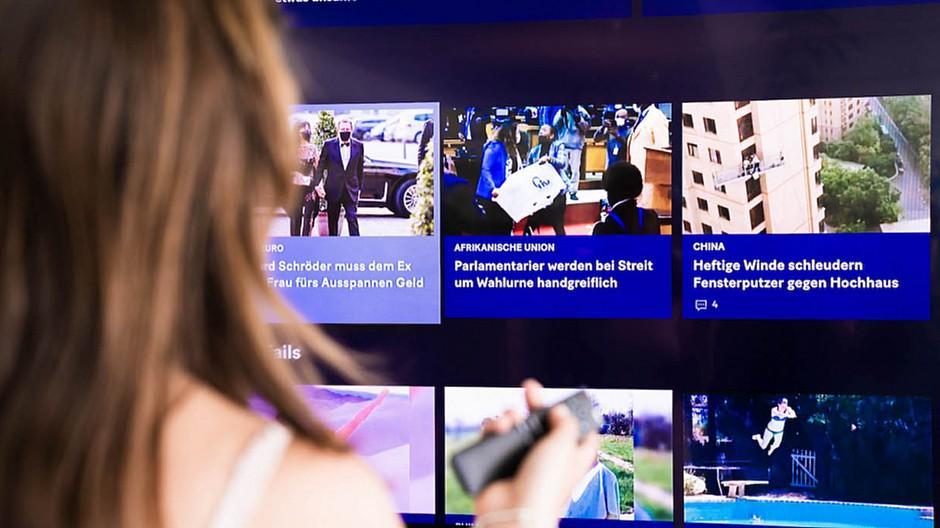 Smart-TV-App: 20 Minuten kommt auf den Grossbildschirm