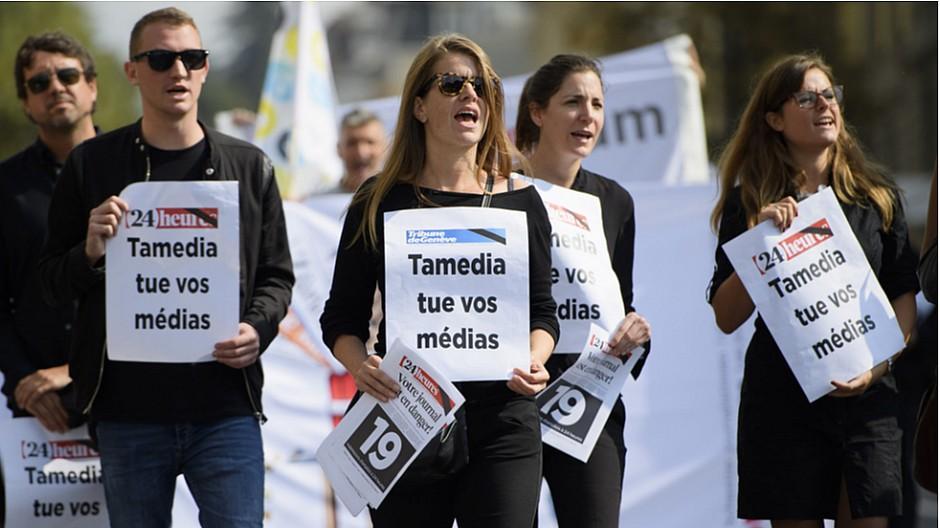 Tamedia: 24 Journalisten entlassen