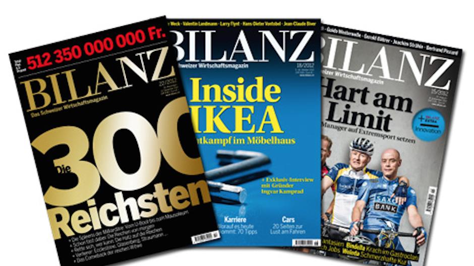 Ringier Axel Springer: «Bilanz» erscheint nur noch monatlich - Medien