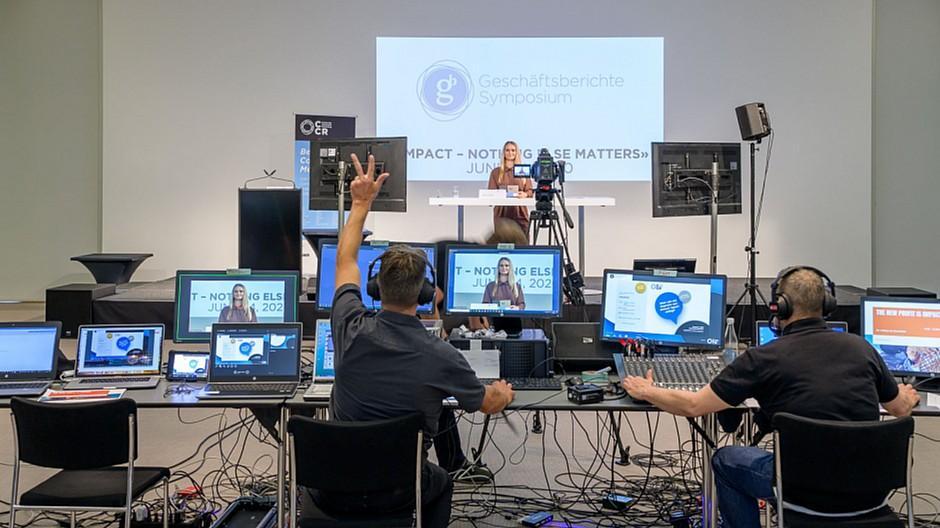 Geschäftsberichte Symposium: 300 Experten verfolgten den Livestream