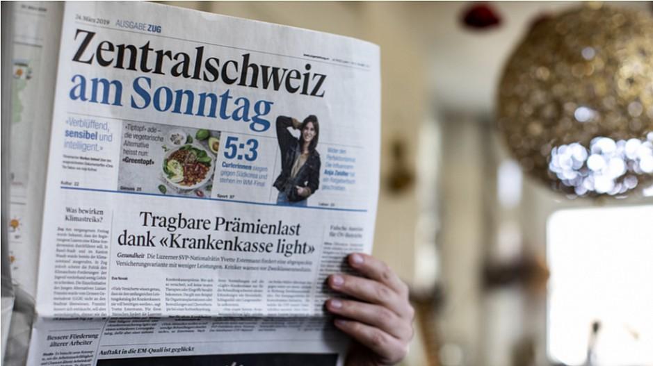 Zentralschweiz am Sonntag: 400 Zeitungsverträger verlieren den Job
