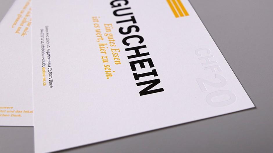Gasser Miesch: 5000 Restaurant-Gutscheine für Kunden