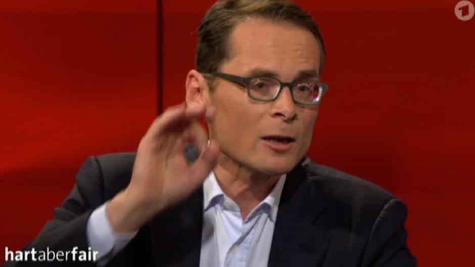 «Hart aber fair»: Roger Köppel bringt CDU-Politiker in Rage