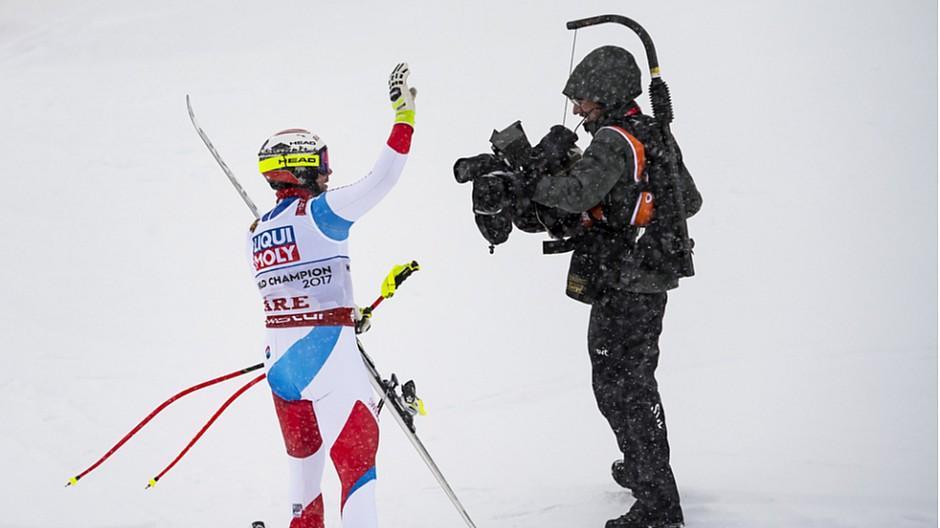 Ski-WM in Are: 748'00 Personen verfolgen Männer-Abfahrt