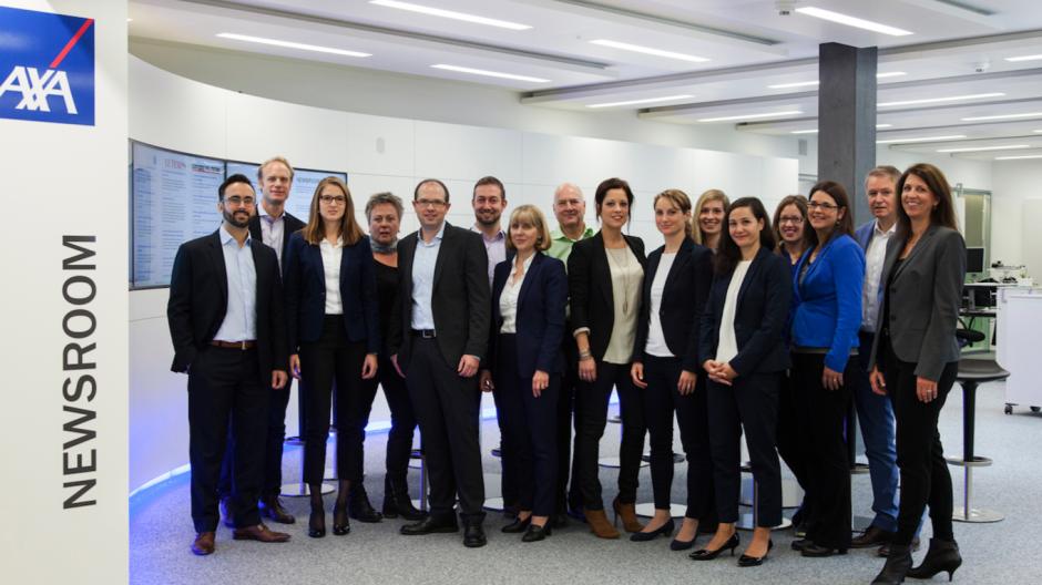 Axa Winterthur: Der Newsroom wird zum Marketing-Tool