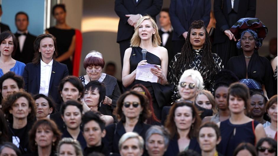 Filmfestival Cannes: 82 Film-Frauen protestieren auf rotem Teppich
