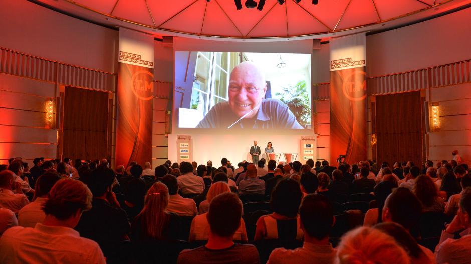 Schweizer Markenkongress: Jean-Claude Biver erhält Ehrenpreis