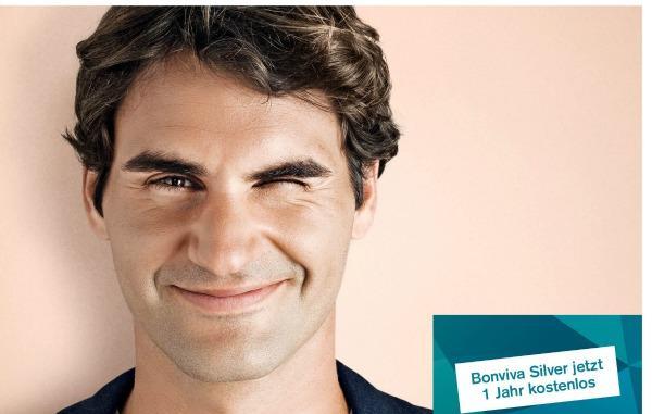 Credit Suisse: Startet nationale Kampagne mit Roger Federer