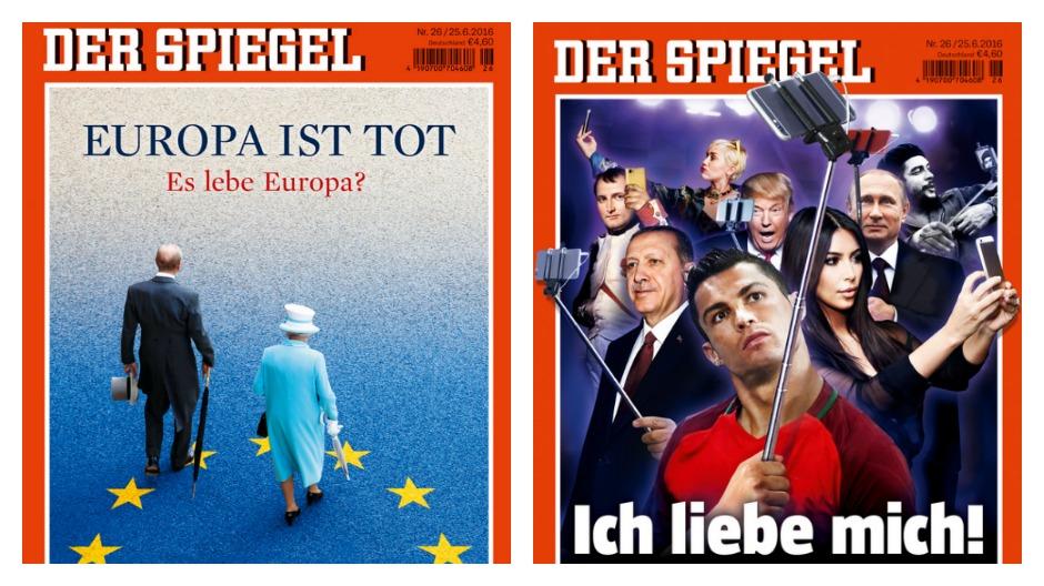 Brexit spiegel wechselt in deutschland titelgeschichte for Der spiegel neue ausgabe