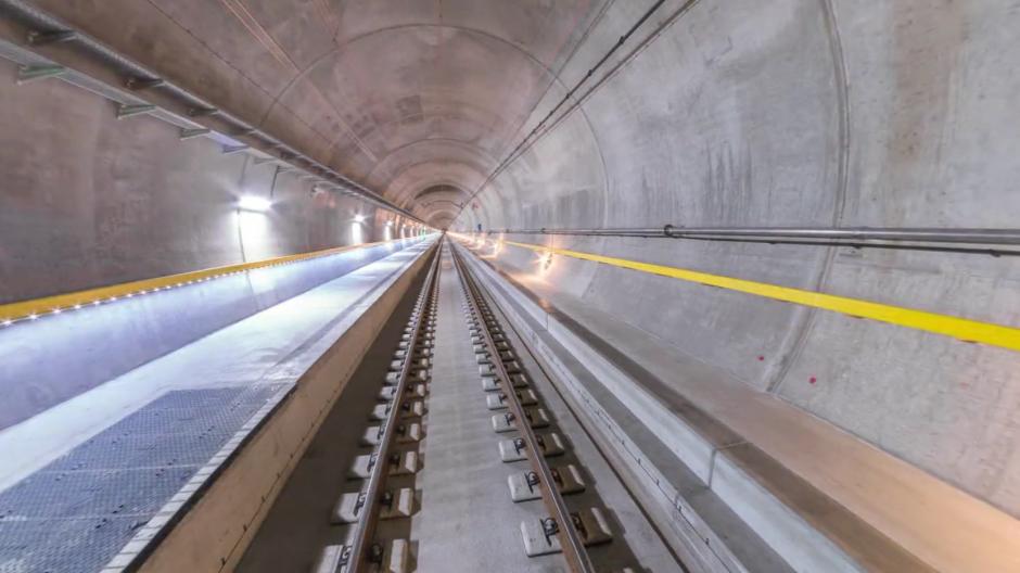 SRF: Eine virtuelle Fahrt durch den Gotthard