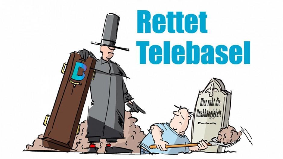 Telebasel: Aktion kämpft für Unabhängigkeit des Senders