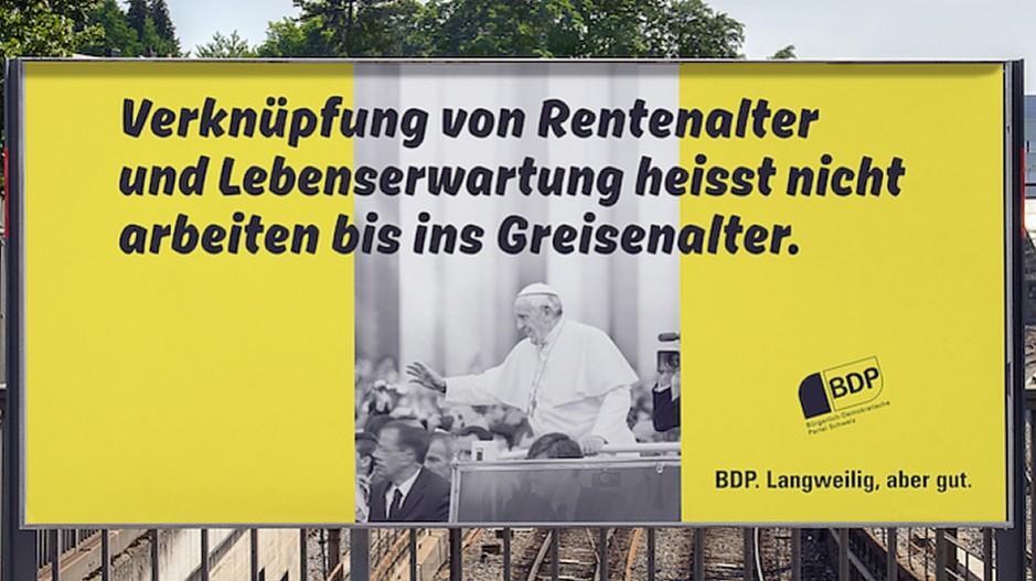 PAM Advertising: Alain Berset soll BDP-Sprachrohr sein