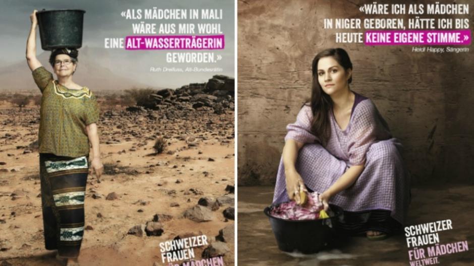Spina Civil Voices: Alt-Bundesrätin Ruth Dreifuss als Wasserträgerin