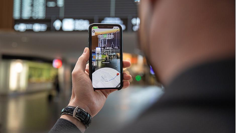 Google Maps: Am Flughafen Zürich gibt es nun «Live View»