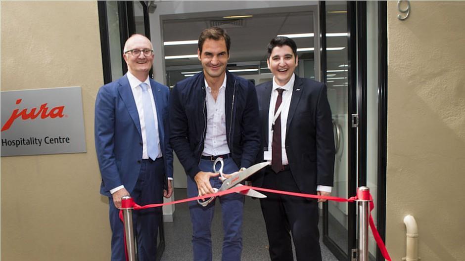 Jura: Auf einen Kaffee mit Roger Federer