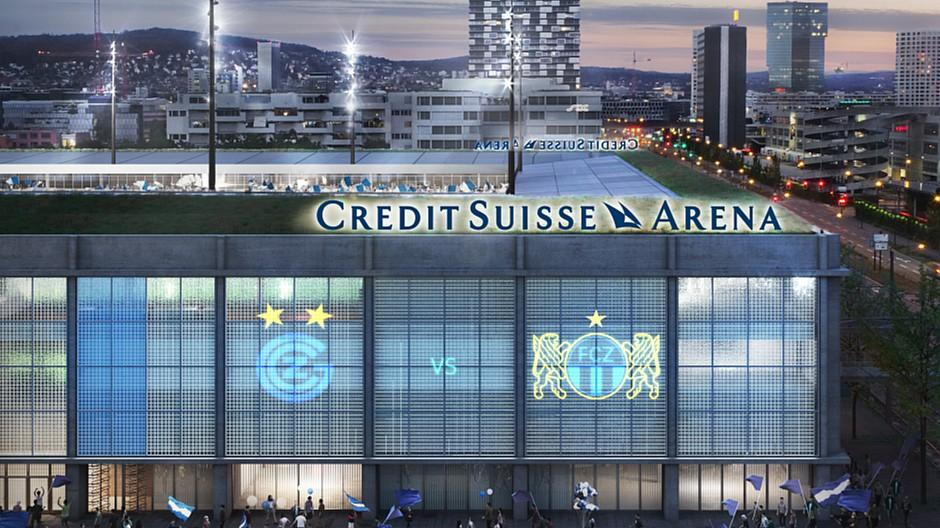 Credit Suisse: Bank sichert sich Namensrechte an Stadion