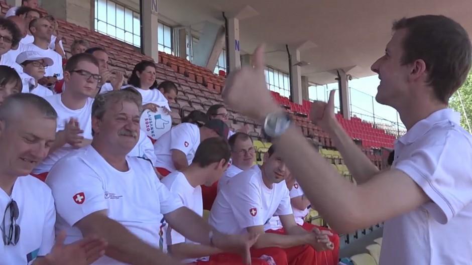 Compresso: Begleitung für das Special-Olympics-Jubiläum
