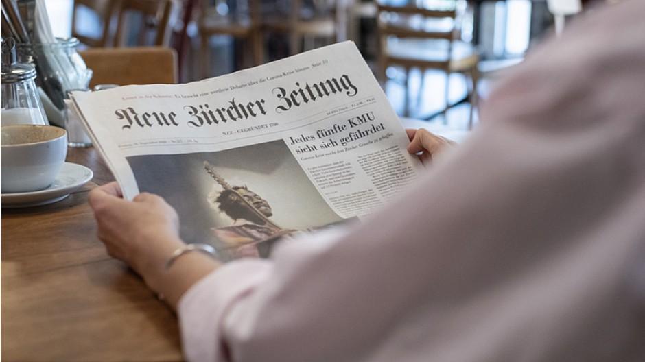 NZZ Medien: Bei Führungskräften sehr beliebt