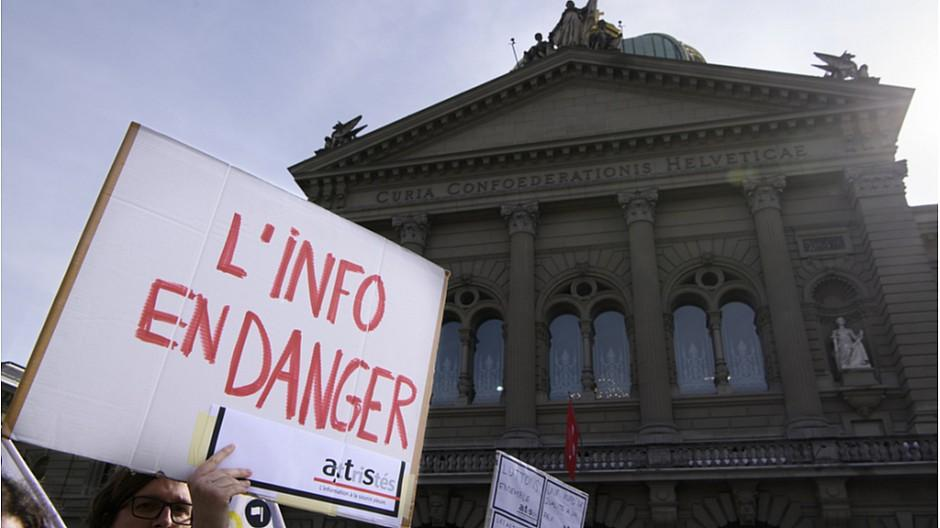 Abbau bei der SDA: Berner Regierung bedauert Abbau in der Region