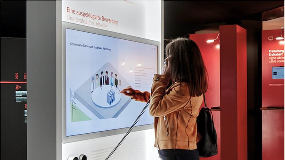 Scholtysik & Partner: Besucherzentrum für Swissgrid konzipiert