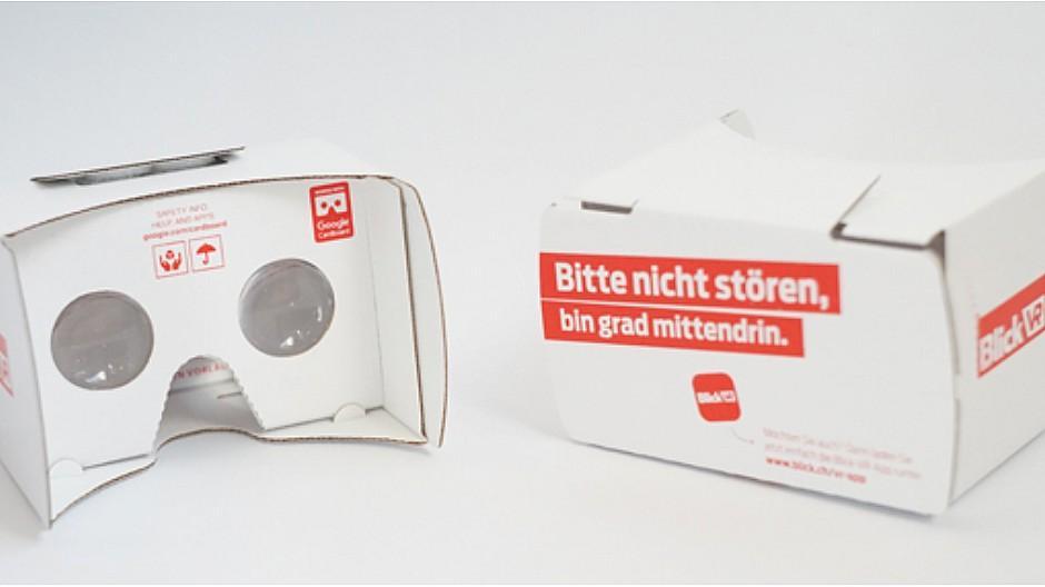 Virtual Reality: Blick-Gruppe lanciert eine VR-App