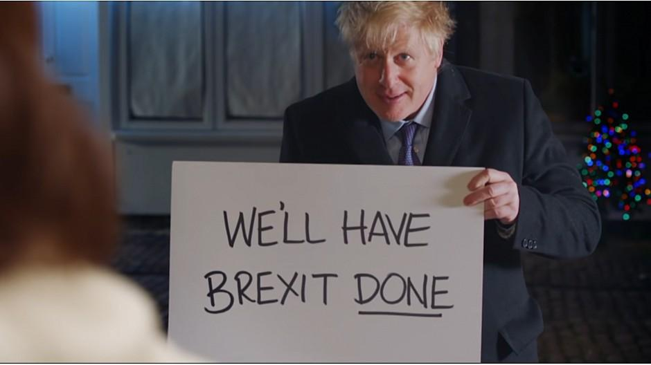 Wahlwerbung in Grossbritannien: Boris Johnson macht «Love Actually»-Hommage