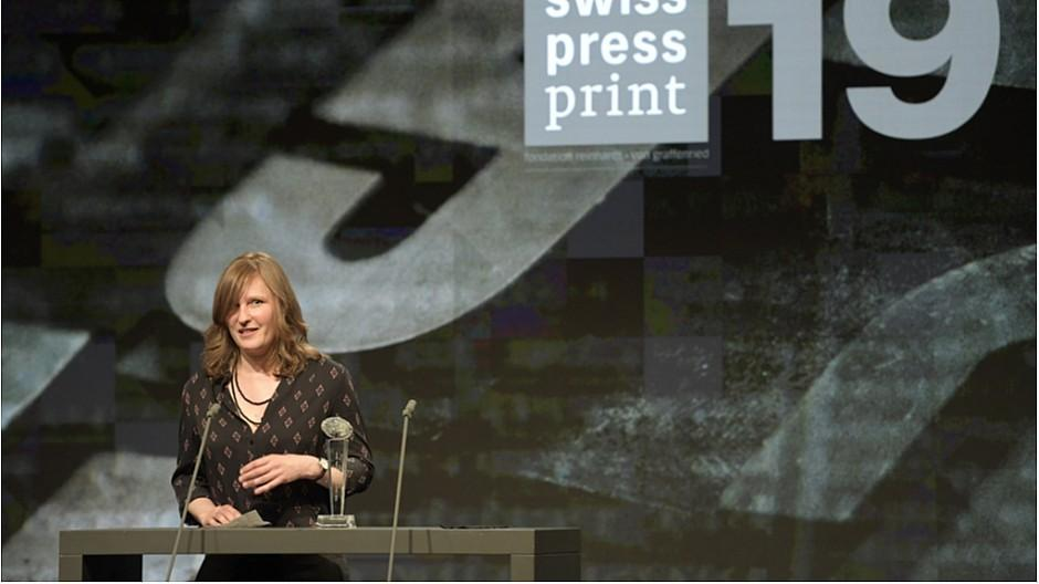 Swiss Press Awards 2019: Camille Krafft gewinnt in der Kategorie Print