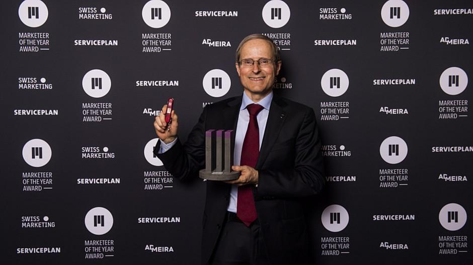 Victorinox: Carl Elsener ist Marketeer of the Year