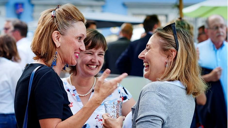 Harbourclub: Chefs und Gäste in bester Plauderlaune