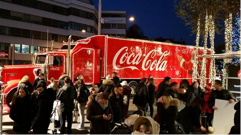 Weihnachtswerbung: Coca-Colas Truck-Tour trifft auf Widerstand