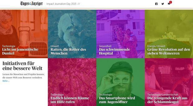 """Tamedia: """"Tages-Anzeiger"""" mit lösungsorientiertem Journalismus"""