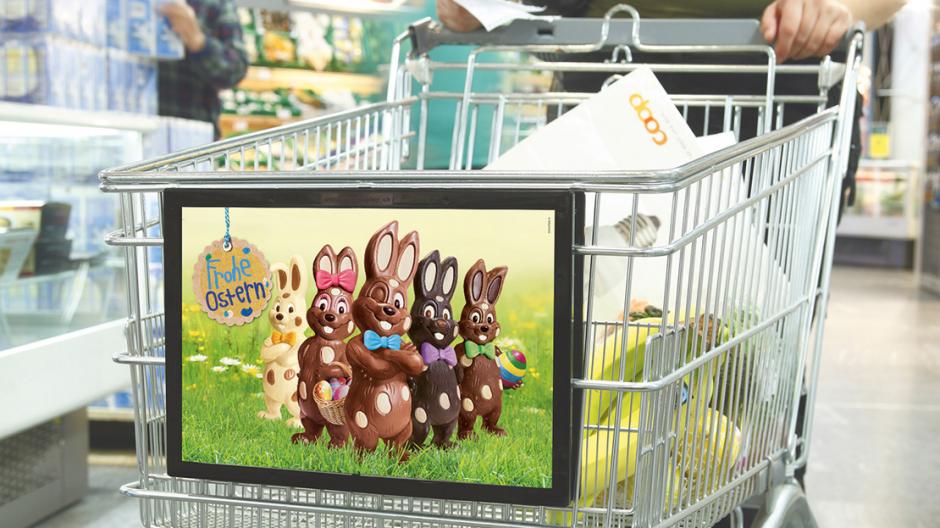 Valencia: Fünf Schokoladen-Hasen für Coop