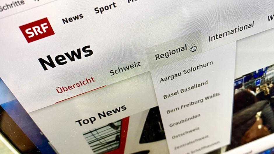 SRF News: Das Digitalangebot wird neu ausgerichtet