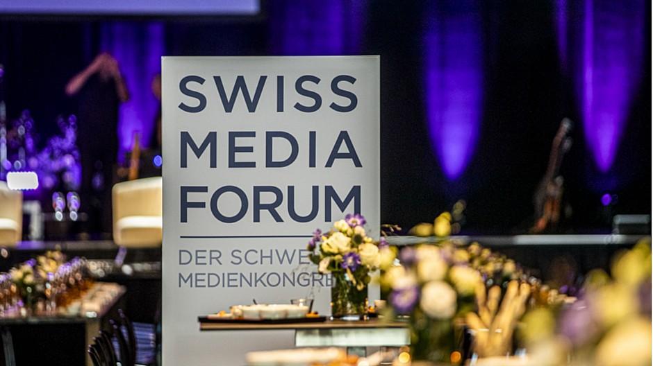 SwissMediaForum: Das ist der Medienkongress in Bildern