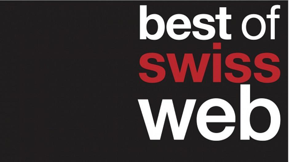 Best of Swiss Web Awards: Das sind die Nominierten für den Master