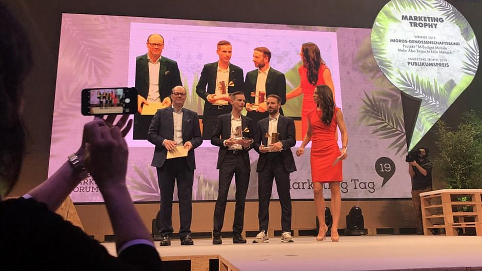 Marketing Tag 19: Das sind die Sieger der «Marketing Trophy»