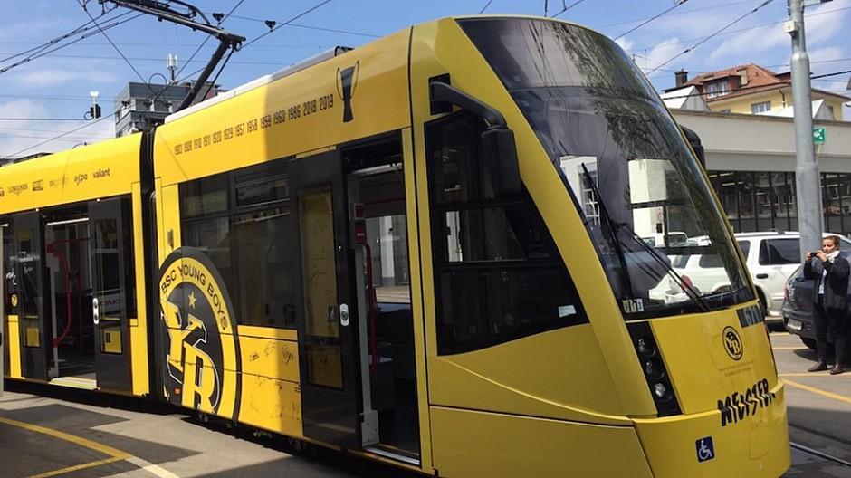 Beem: Das gelbe YB-Tram wird interaktiv