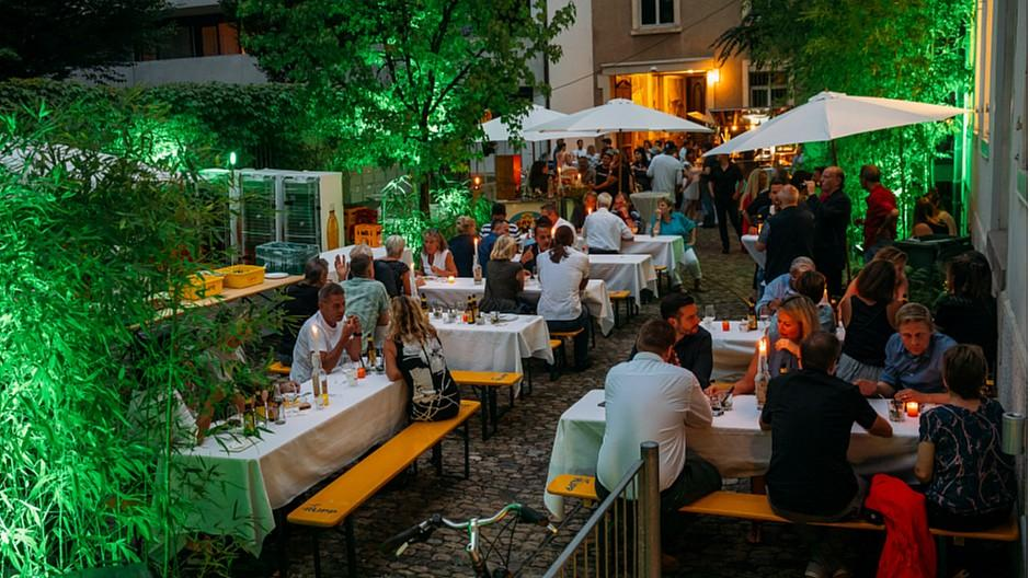 Cover Media / Cover Ad Line: Den letzten warmen Sommerabend genossen