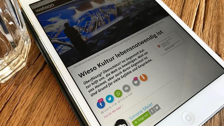Kommerzielle Kommunikation: Der Bund kauft Native Ad bei «Watson»