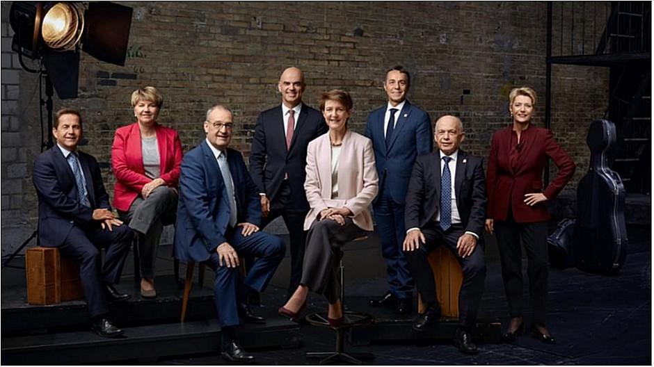 Bundesratsfoto 2020: Bundesrat wollte sich als Beatles inszenieren