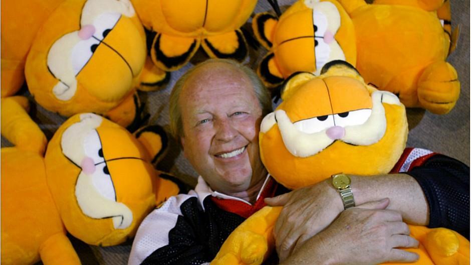 Jim Davis: Der Garfield-Erfinder wird 75