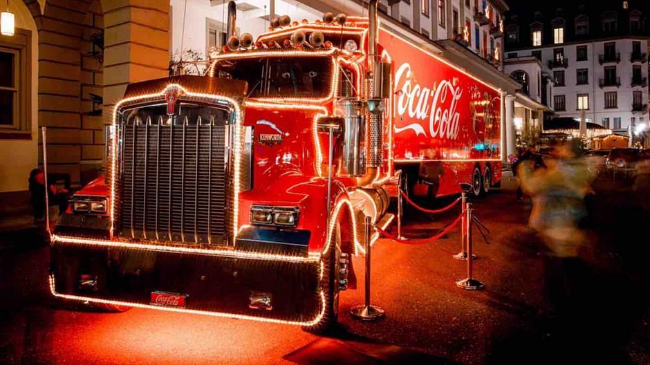 Coca-Cola: Der Weihnachtstruck bleibt in der Garage