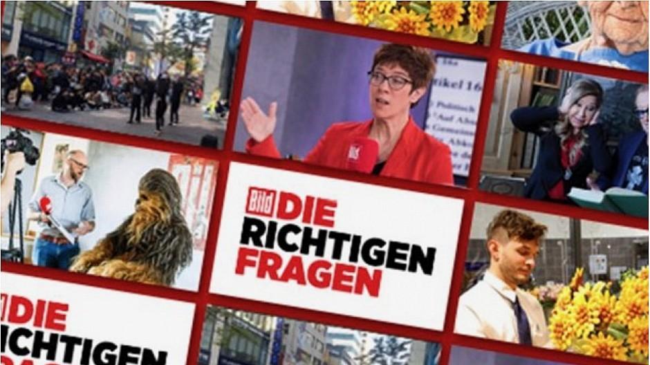 Deutschland: «Bild» lanciert einen eigenen TV-Kanal